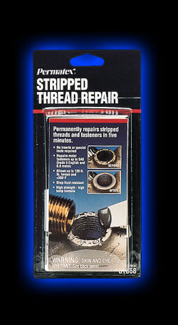 Stripped Thread Repair 44 Oz Net Wt Kit Permatex
